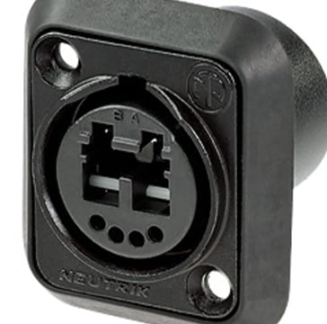 Neutrik Chassis Connectors & Covers