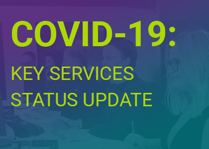 COVID-19 Service Update - Blog Feature Image